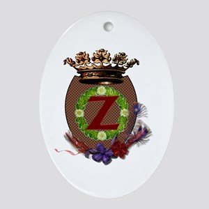Z Crest Ornament (Oval)