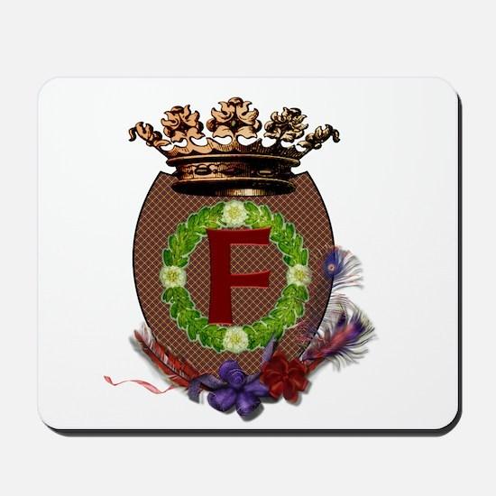 F Crest Mousepad