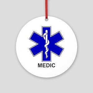 BSL - MEDIC Ornament (Round)
