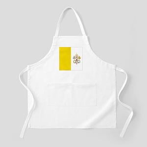 Vatican City Flag BBQ Apron