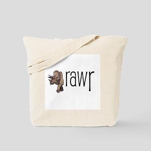 Dinosaurs Go Rawr Tote Bag