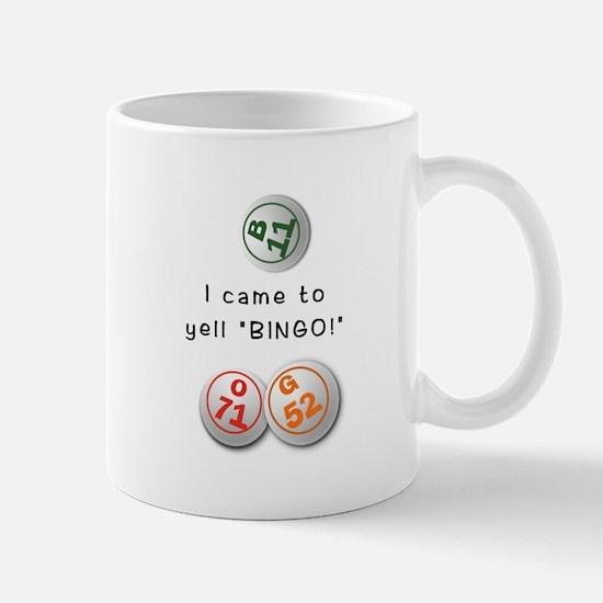 Unique Bingo caller Mug