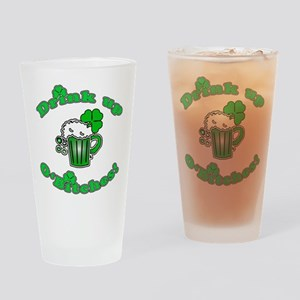Drink Up O'Bitches Drinking Glass