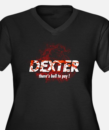 Dexter theres hell to pay Blo Women's Plus Size V-
