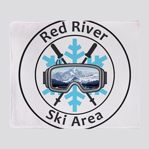 Red River Ski Area - Red River - N Throw Blanket
