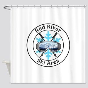 Red River Ski Area - Red River - Shower Curtain