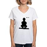 iOwl Women's V-Neck T-Shirt