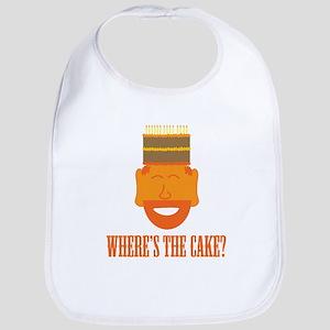 Where's the Cake? Bib