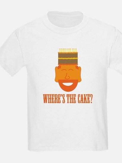 Where's the Cake? Kids T-Shirt