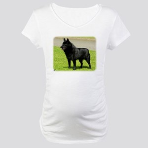 Schipperke 9W021D-003 Maternity T-Shirt