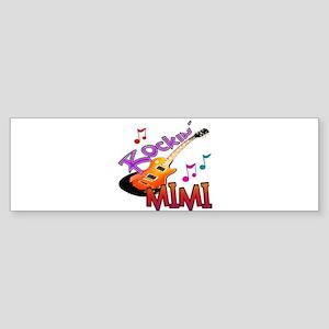 ROCKIN MIMI Sticker (Bumper)