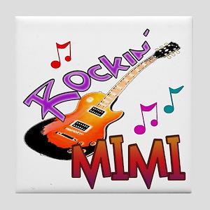 ROCKIN MIMI Tile Coaster