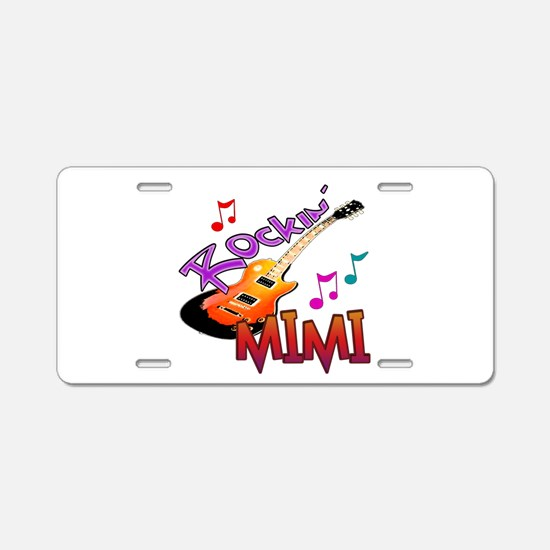 ROCKIN MIMI Aluminum License Plate