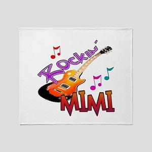 ROCKIN MIMI Throw Blanket