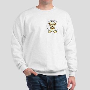 Wheaten Terrier Lover Pocket Sweatshirt