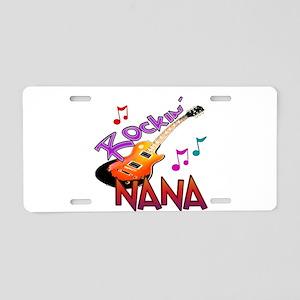 ROCKIN NANA Aluminum License Plate