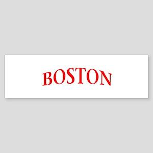 BOSTON Sticker (Bumper)
