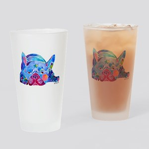 French Bulldog Frenchies Drinking Glass