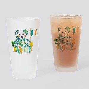 St Patrick's Day Drinking Glass