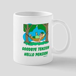 Hello Pension Boomer Mug