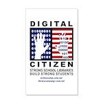 Digital Citizen 38.5 x 24.5 Wall Peel