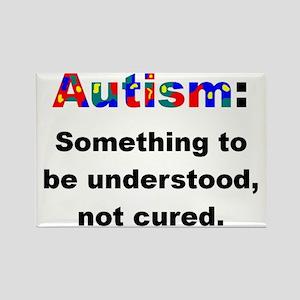 Understand Autistics Rectangle Magnet