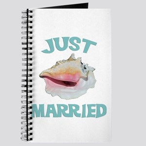 Just Married on the Beach Journal