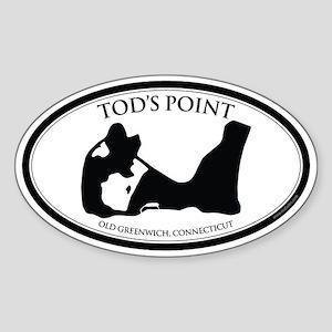 Tod's Point Sticker (Oval)