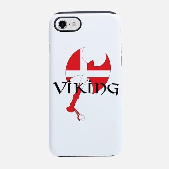 Denmark Viking iPhone 7 Tough Case