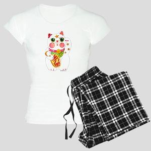 Lucky Beckoning Cat Women's Light Pajamas