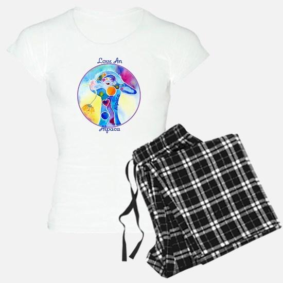 Love an Alpaca T Shirt Pajamas