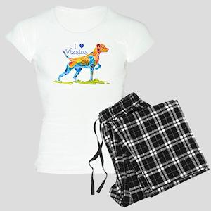 I LOVE HUNGARIAN VIZSLAS GIFT Women's Light Pajama