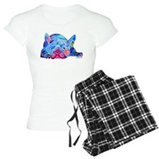 French Bulldog Frenchies Women's Light Pajamas