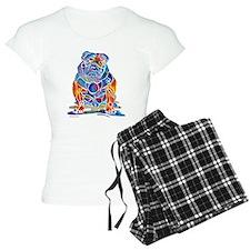 Whimsical English Bulldog Women's Light Pajamas