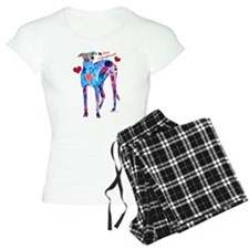 Love a Greyhound Women's Light Pajamas