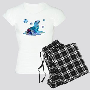 Sea Lion Art Women's Light Pajamas