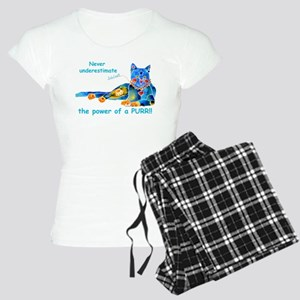 Purr Kitty Women's Light Pajamas