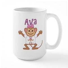 Little Monkey Ava Large Mug