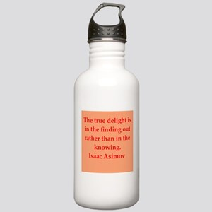Isaac Asimov quotes Stainless Water Bottle 1.0L