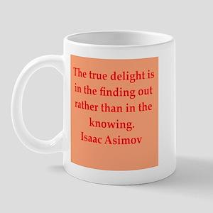 Isaac Asimov quotes Mug