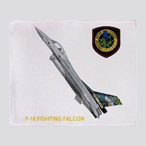 1st Fighter Squadron Throw Blanket