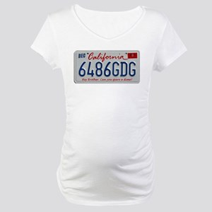 Cal Plate Spare A Dime Maternity T-Shirt