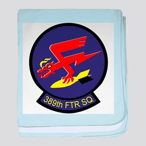 F-16 389th Fighter SQ baby blanket