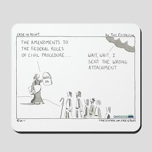FRCP Amendments Mousepad