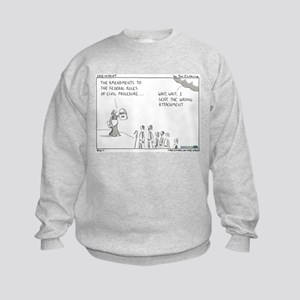 FRCP Amendments Kids Sweatshirt