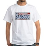 Cal Mental Cesspool White T-Shirt
