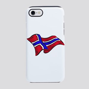 Flag of Norway iPhone 7 Tough Case