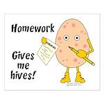 Homework Small Poster