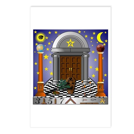 King Solomon's Temple Postcards (Package of 8)