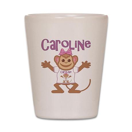 Little Monkey Caroline Shot Glass